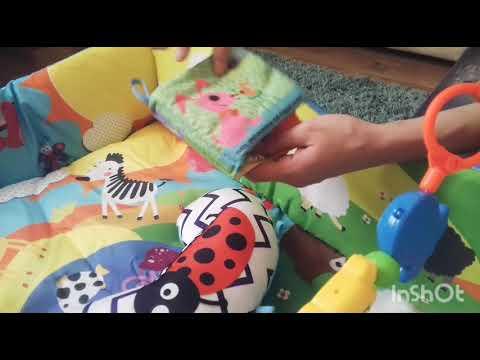 Обзор на Развивающий коврик Lionelo Anika (LO.AN01) из Rozetka.UA