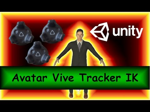 [Tutorial] Controlling Makehuman Avatar with Vive Trackers in Unity3d