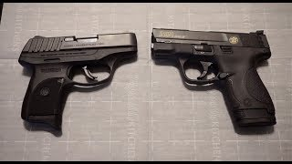 Ruger EC9S vs. M&P Shield 9...which one should you choose?