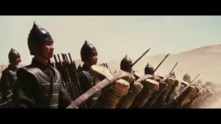 Одна из самый потрясающих по своей мистичности батальных сцен в кино.