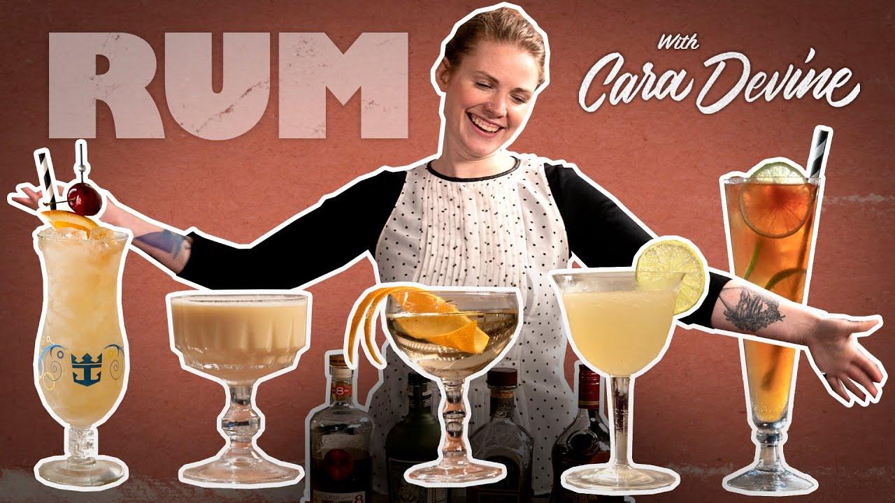 5 Classic Rum Cocktails