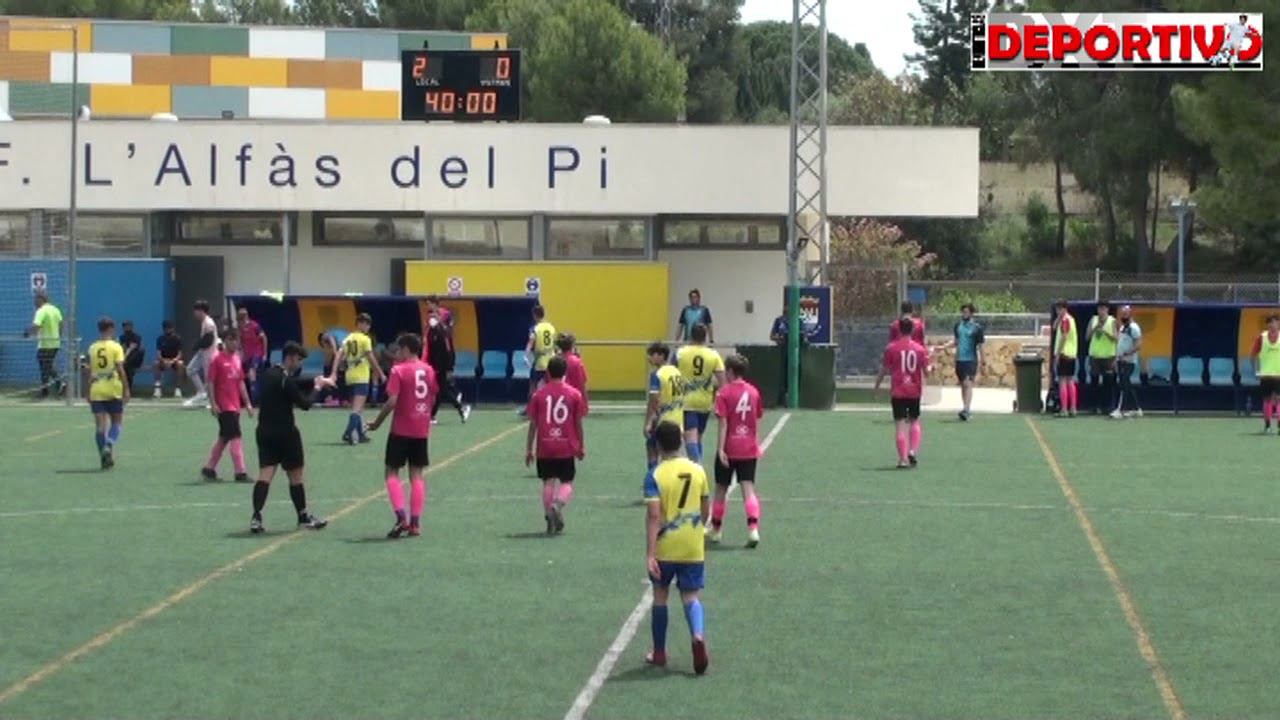 Vídeo resumen del partido entre el Cadete A del CF Alfaz del Pi y el Oliva