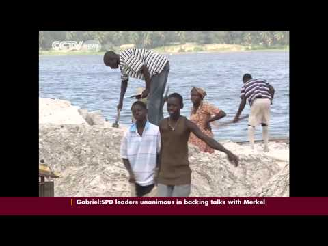 Lake Retba in Senegal is a tourist attraction and source of livelihood for locals
