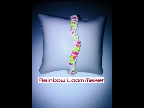 TUTO FR/EN ! Rainbow loom bracelet DNA spiral model / modèle ADN spirale