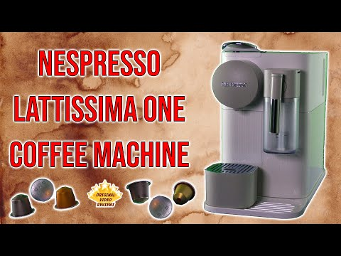 Nespresso Lattissima One Coffee Machine Review