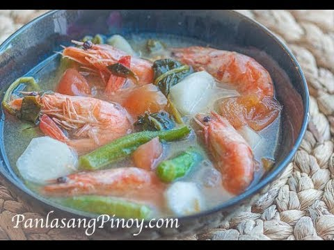 Sinigang Na Hipon Youtube