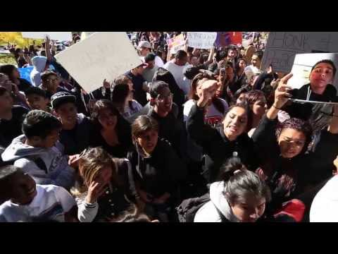 Students Protest Shooting of Andy Lopez
