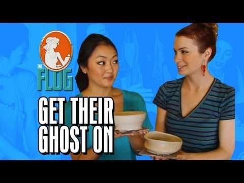 Felicia Day & Amy Okuda Get Their Ghost On