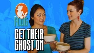 Felicia Day & Amy Okuda Get Their Ghost On