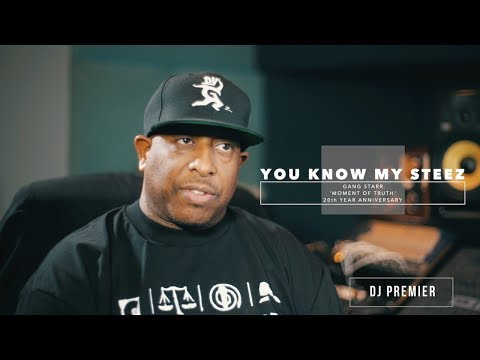 "DJ Premier Breaks Down Gang Starr's ""You Know My Steez""  Beat Break Ep 1"