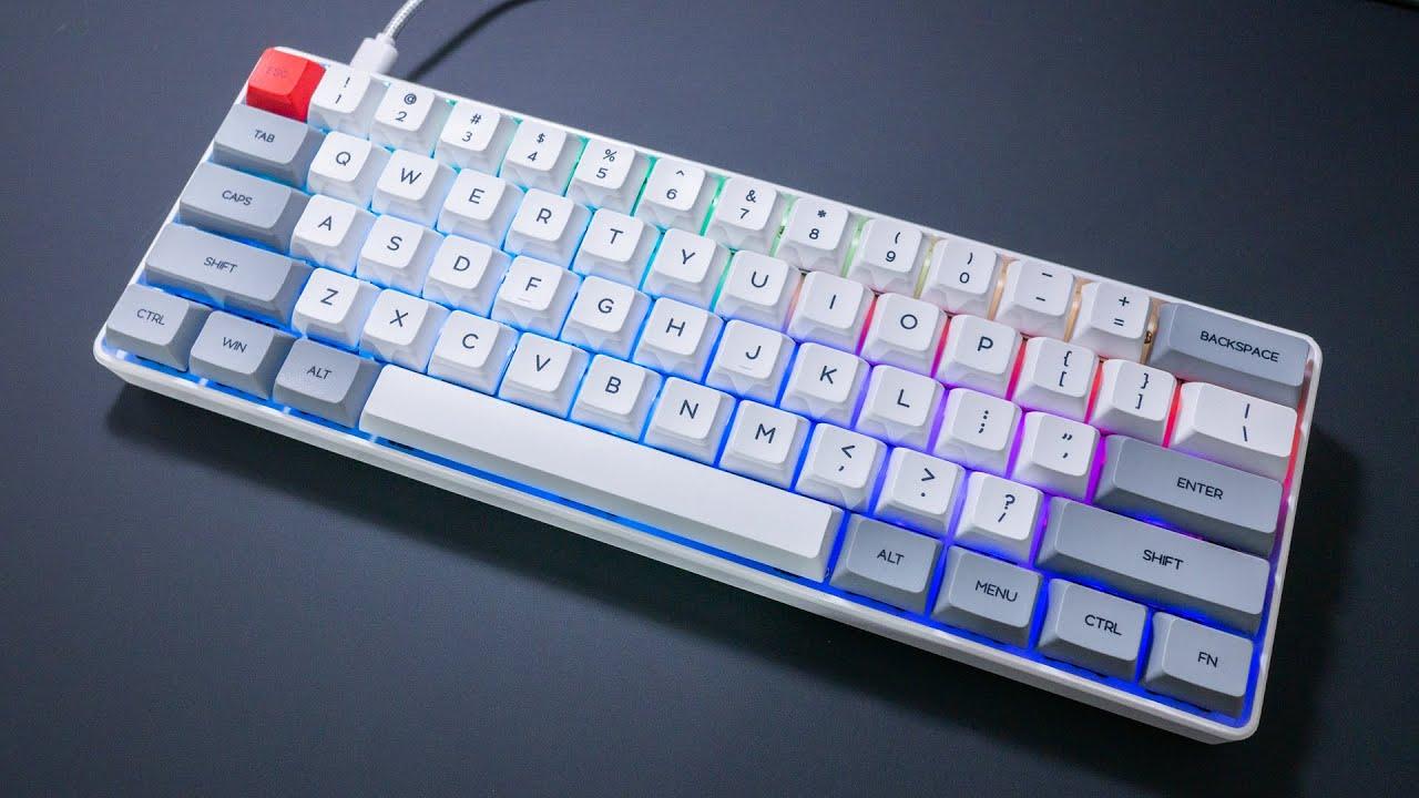 GK61 Killer ? ~ SK61 60% Mechanical Keyboard Review - YouTube