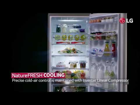 LG Premium Bottom Freezer Refrigerator  : USP Video / NatureFresh Cooling