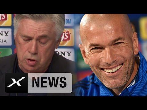 Carlo Ancelotti erklärt wie Zinedine Zidane ihn veränderte | FC Bayern München - Real Madrid