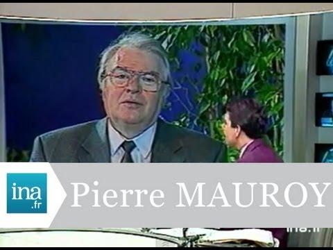 Pierre MAUROY congrès du Parti Socialiste à Rennes  - Archive vidéo INA