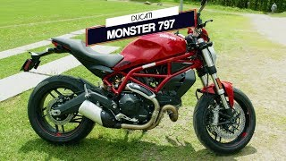 Ducati Monster 797 | Essai moto | Action moteur sport MOTO