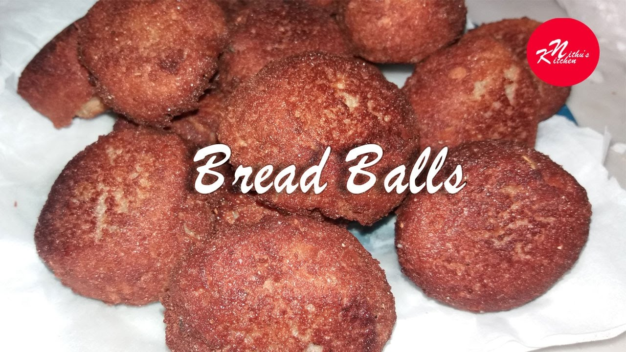 how to make bread balls