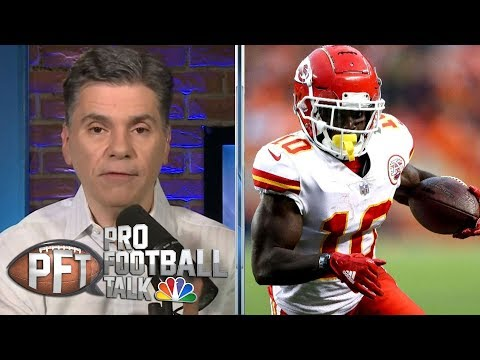 Kansas City Chiefs' Tyreek Hill interview by NFL for eight hours | Pro Football Talk | NBC Sports