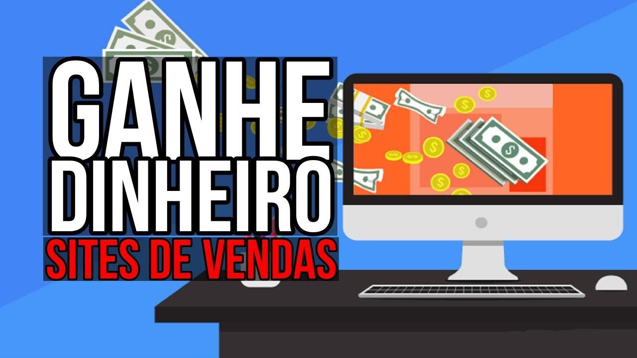 5 Sites para GANHAR DINHEIRO na internet trabalhando EM CASA (RENDA EXTRA)