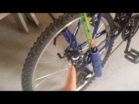 DIY Bike Rod Holders (READ DESCRIPTION)