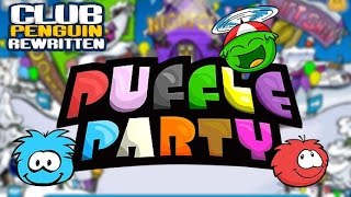 Club Penguin Rewritten: Puffle Party 2017