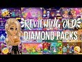 Reviewing old D packs!! (SOME ARE IN THE SHOP???)