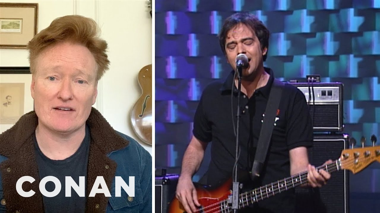 Conan Remembers Adam Schlesinger & A Very Special Fountains Of Wayne Performance