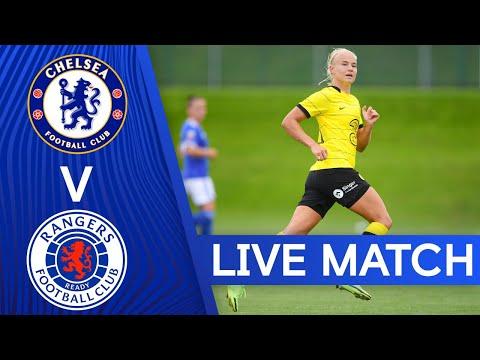 Chelsea v Rangers |  Pre-season friendly |  Live match