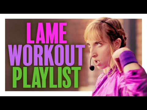 When the Workout Instructor's Music Sucks