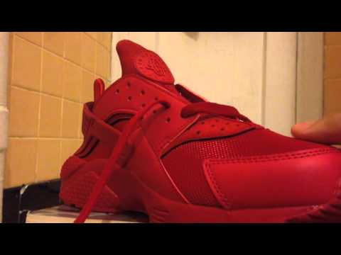 How To Lace Nike Air Huarache Loosely
