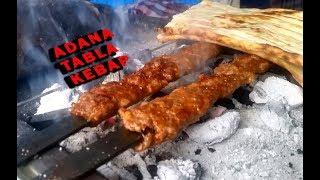 Adana'nın o eski tabla kebapçısını bulduk!!!Tüfek dürüm!!!Ali Rıza Usta!!!
