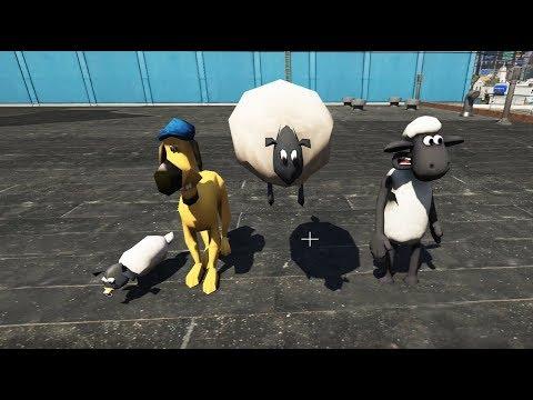 GTA 5 - Shaun the sheep Những chú cừu thông minh vui nhộn   GHTG