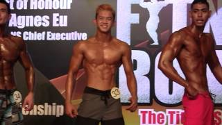 Fitness Ironman 2015 (Physique) - Open(176cm+) Prejudging