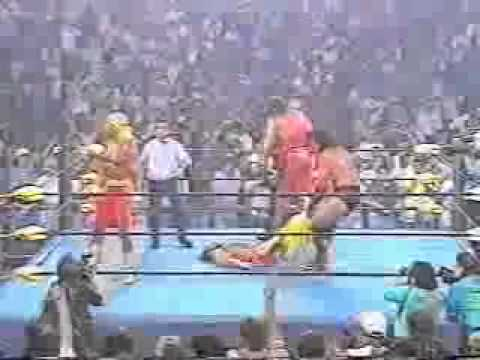 "WCW ""Bash at the Beach"" 1996: Hulk Hogan Turns Heel and Joins The Outsiders"