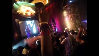 FreQ Nasty , B.R.E.E.D., MoCity, Nikhil Chinapa & Tara Humphries @ Sunburn 2011 Arro Stage