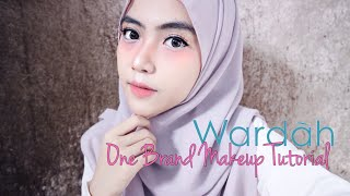 Wardah One Brand Makeup Tutorial + First Impression | Shafira Eden