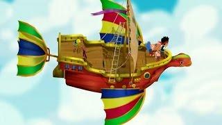 Джейк и пираты Нетландии - Уплывающее сокровище/ Тайна Таинственного острова! - Серия 20, Сезон 2