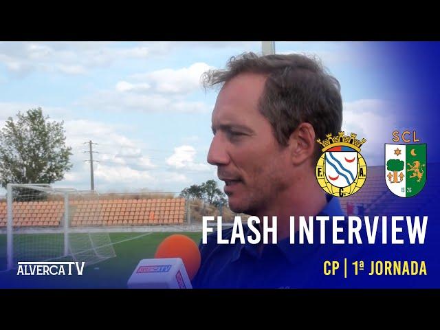 FC Alverca 1 x Lourinhanense 0 - Flash Interview
