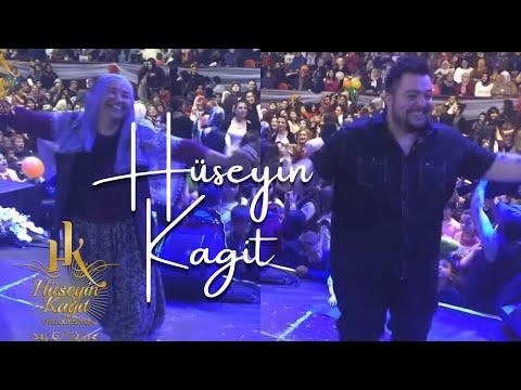 HÜSEYİN KAĞIT Konseri 2018 (Yaşlı Teyze Herkesi Şokk Etti !)