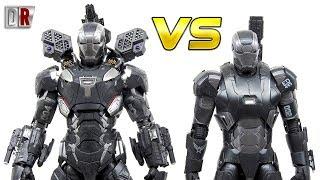 COMPARATIVO Hot Toys WAR MACHINE IW vs WAR MACHINE AOU / DiegoHDM