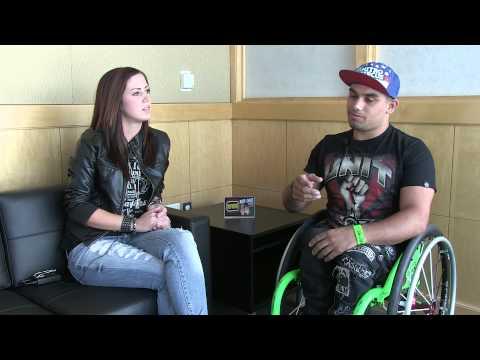 WRIF Rock Girl w/ Wheelz from Nitro Circus