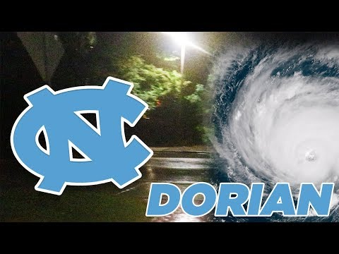 Effects Of Hurricane Dorian On UNC Campus