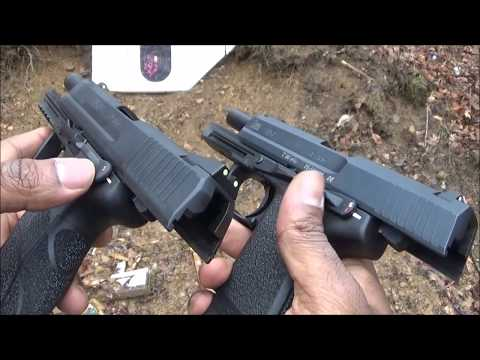 Heckler & Koch: HK45 vs. HK USP 45