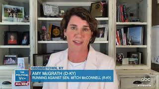 """Amy McGrath Says Mitch McConnell is """"Everything That is Wrong with Washington"""" 