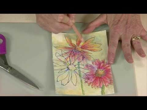 Cloth Paper Scissors - From Art Journaling to Art - Jane LaF