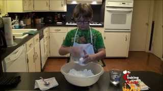 Cooking With Kade | 9 Year Old Makes A 7-up Biscuits Video Recipe On Cajun Tv Network