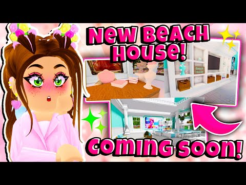 *NEW* BEACH HOUSE Coming Soon To Royale High! New Summer Update in Roblox Royale High School!