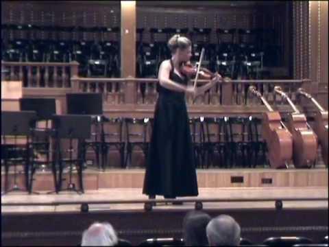 J.S.Bach : d minor partita , Astor Piazzola : History of the tango (guitar: Dora Pallagi)