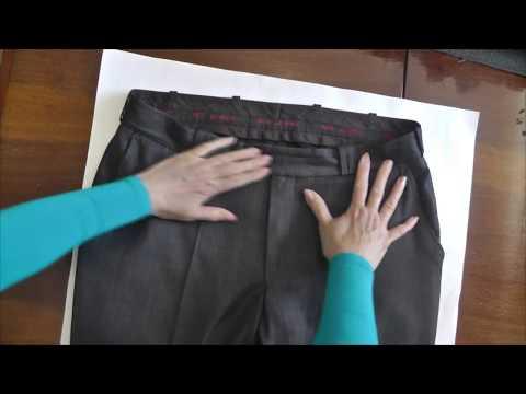 Как вставить молнию в брюки