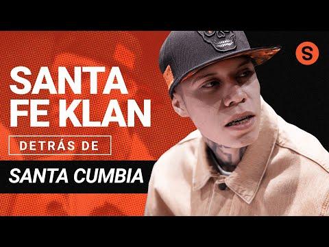 Santa Fe Klan detrás de la inspiración y la creación de 'Santa Cumbia' | Slang