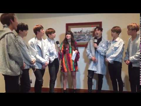 Carly henderson tells BTS about 2!3! Army song ! ( To Bangtan )